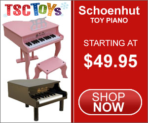 Toy Piano, Schoenhut Piano, Kids Piano