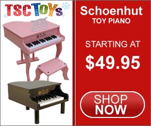Toy Piano, Schoenhut Piano, Kids Piano